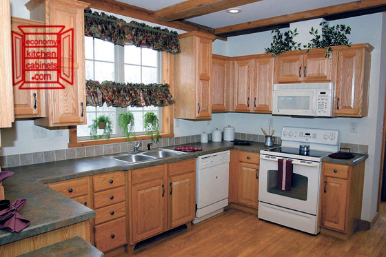 A Nice L Shaped Kitchen