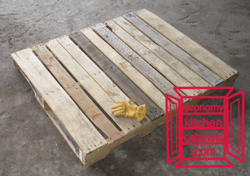 How to get rustic kitchen cabinets for free economy - How to make table out of wood pallets ...